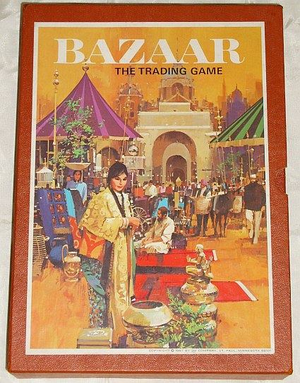 BAZAAR - the trading game